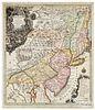 Tobias Conrad Lotter & Georg Matthäus Seutter map