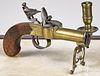 English pistol tinder lighter