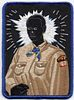 """Kerry James Marshall """"Den Mother"""" rare patch"""