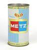 1964 Metz Premium Beer 12oz Flat Top Can 99-14