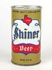 1967 Shiner Beer 12oz Tab Top Can T124-20