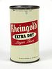 1956 Rheingold Extra Dry Lager Beer 12oz Flat Top Can 123-06