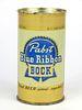 1954 Pabst Blue Ribbon Bock Beer 12oz Flat Top Can 112-07