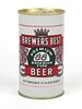 1969 Brewers' Best Beer 12oz Tab Top Can T45-32.1