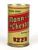 1967 Mann-Chester Extra Dry Beer 12oz Tab Top Can T91-19