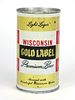 1967 Wisconsin Gold Label Beer 12oz Flat Top Can 146-20