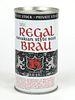 1972 Regal Brau Beer (non-metallic) 12oz Tab Top Can T114-16