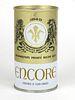 1968 Encore Beer 12oz Tab Top Can T61-35