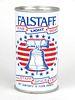 1976 Falstaff Beer (test) Cranston 12oz Tab Top Can T63-17v