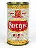 1958 Burger Beer 12oz Flat Top Can 46-20