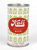 1970 Katz Premium Beer 12oz Tab Top Can T84-11
