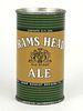 1951 Rams Head Ale 12oz Flat Top Can 118-34.2