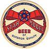 1950 Star Model Beer  Coaster IL-STA-1