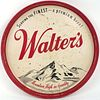 1958 Walter's Beer 12 inch tray Serving Tray