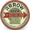 1954 Arrow Beer 13 inch tray Serving Tray