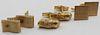 JEWELRY. (3) Pair of 14kt Gold Cufflinks.