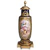 Late 19th Cent. Sevres Style Signed Lucot Urn