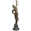 After Charles A. Coysevox (French, 1640-1720) Diane The Hunter Bronze