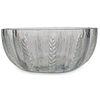 Lalique Crystal Bowl w/ Wheat Pattern