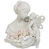 """Lladro Porcelain """"Beauty in Bloom"""" Figurine"""