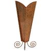 Art Vilov Copper Metal Potpourri Vase
