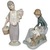 (2Pc) Lladro Figural Grouping