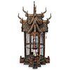 Antique Thai Hand Carved Wood Bird House