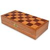 Chinese Carved Bone Chess Board Set