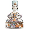Hand Painted French Majolica Figure