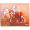 A.St. Surin (Haiti, 20th C.) Acrylic On Canvas