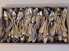 86 COIN SILVER SPOONS