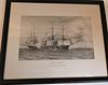 RIGHT WHALING PRINT AFTER RUSSELL