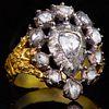 ANTIQUE DIAMOND OPENWORK RING