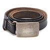 Tiffany & Co Sterling and Leather Belt