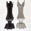 Pair Roche Bobois Ceramic Vases