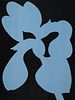 Alston Stoney Conley, Certificate '74, 5th Yr '75, BFA '76 - Blue Flag Iris