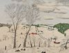 ANNA MARY ROBERTSON 'GRANDMA' MOSES, (American, 1860-1961), A Blanket of Snow, 1945