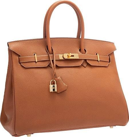 12c9d83788 Hermes 35cm Gold Togo Leather Birkin Bag with Gold Hardware Very ...