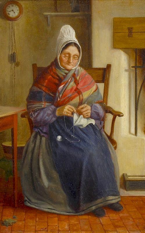 Old scottish lady