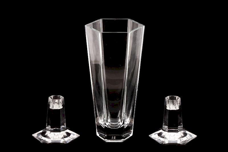 Frank Lloyd Wright Crystal Group Tiffany Co By Ahlers Ogletree