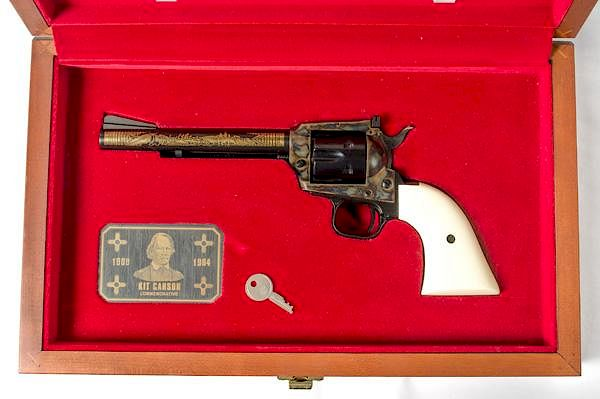 Colt Kit Carson Commemorative Single-Action Revolver by