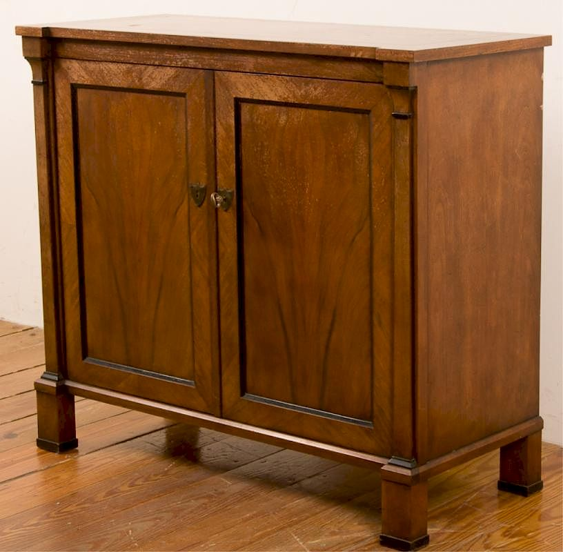 Baker Furniture Two Door Console Cabinet By Bremo Auctions Bidsquare