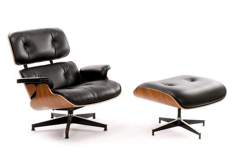 Excellent Eames Office Lounge Chair And Ottoman 670 671 By Ahlers Uwap Interior Chair Design Uwaporg