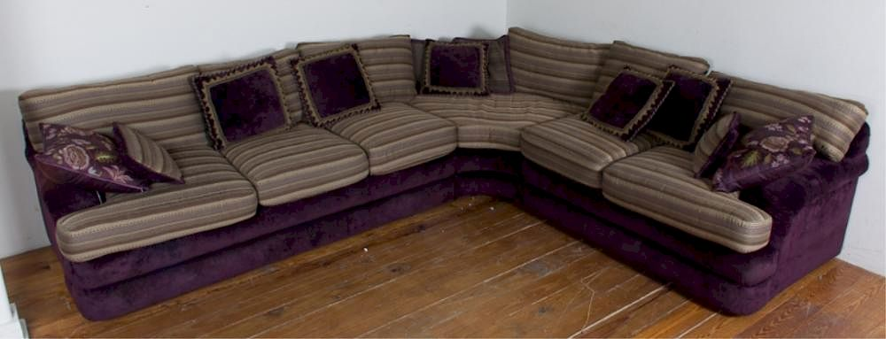 Fabulous Kravet Furniture Sectional Sofa W Pillows By Bremo Auctions Ibusinesslaw Wood Chair Design Ideas Ibusinesslaworg