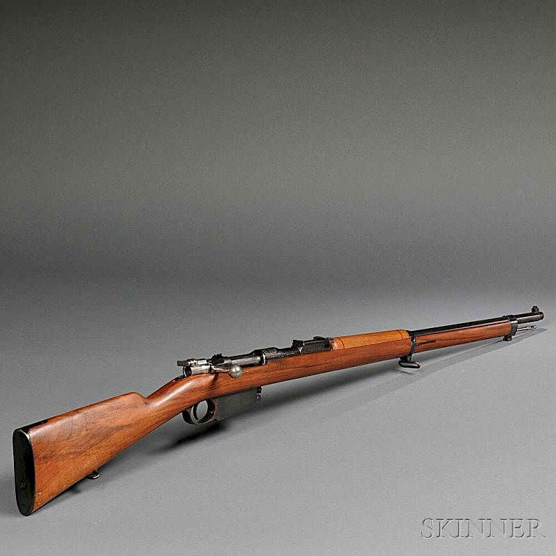 Model 1891 Argentine Mauser Rifle by Skinner - 93233 | Bidsquare