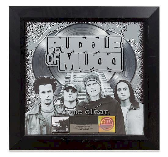A Puddle of Mudd: Come Clean RIAA Certified 3x Platinum