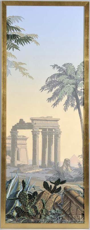 Zuber & Cie. Wallpaper Scene of El Dorado by Skinner - 611474 | Bidsquare