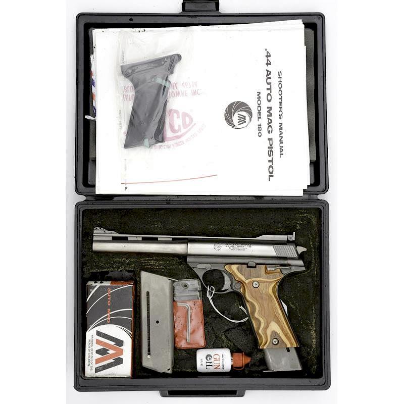 tde auto mag model 180 semi auto pistol by cowan s auctions inc