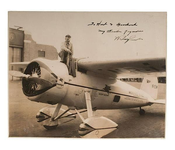 Wiley Post, The First Pilot To Fly Solo Around The World