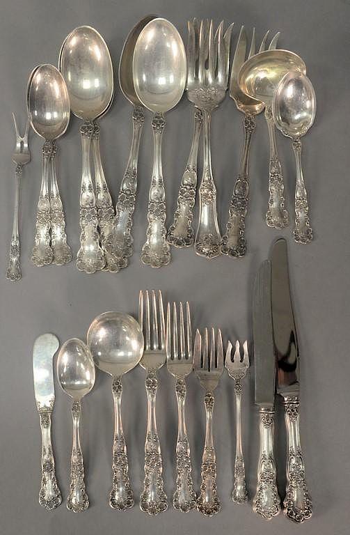 Sterling Silver Flatware Gorham Buttercup Teaspoon
